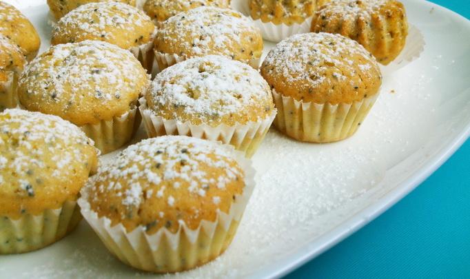 Постные кексы – рецепт приготовления