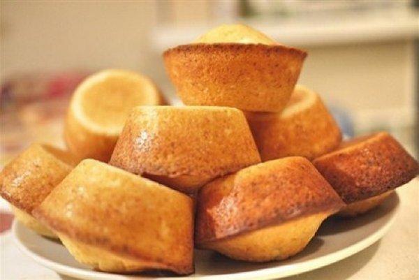 вкусные кексы в формочках