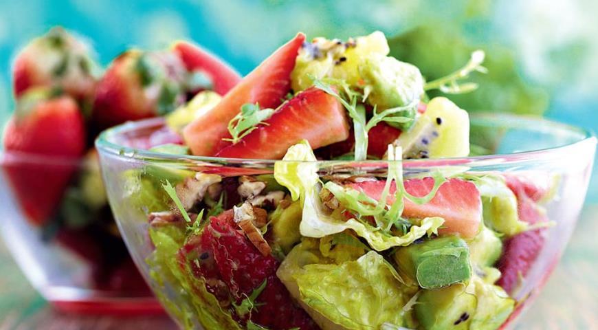 фруктовые салаты рецепт приготовления