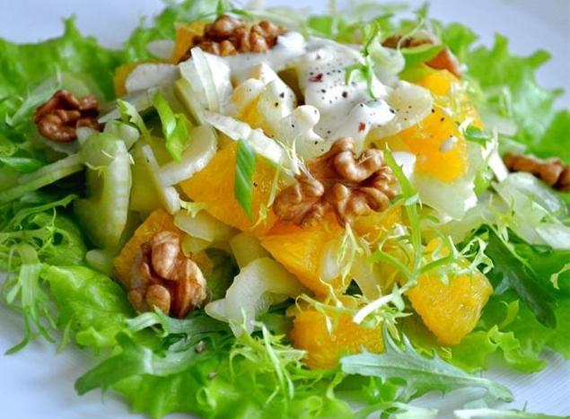 фруктовые салаты рецепт