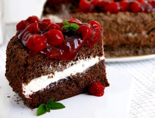 шоколадный бисквит рецепт с фото