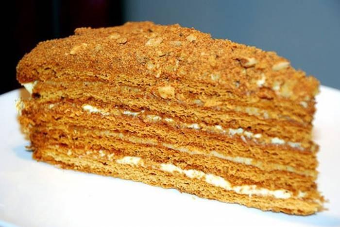 Медовый торт Старинный