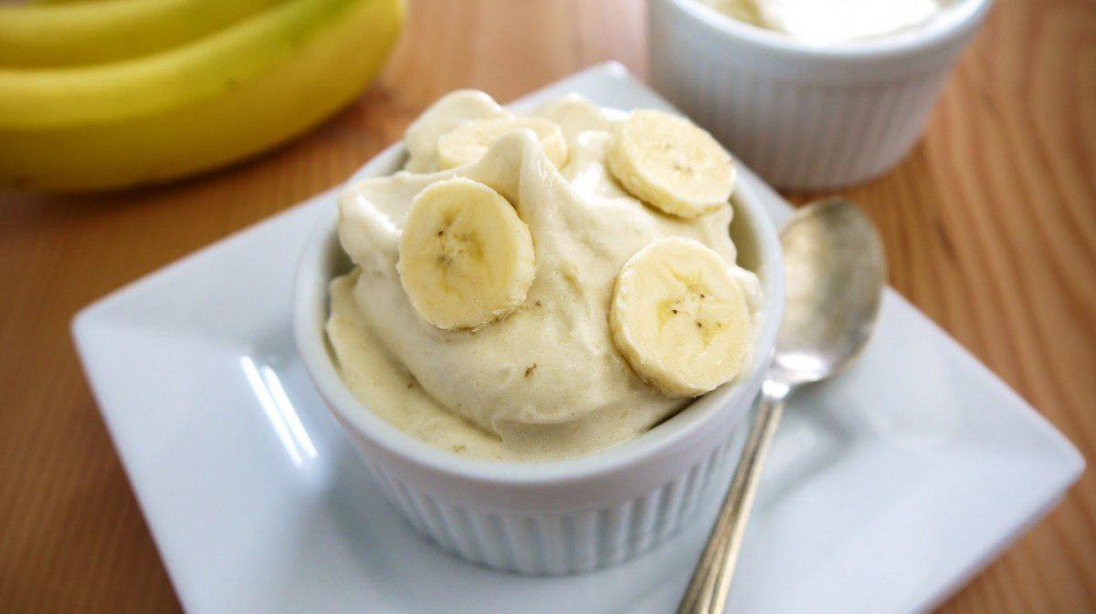 Банановый щербет