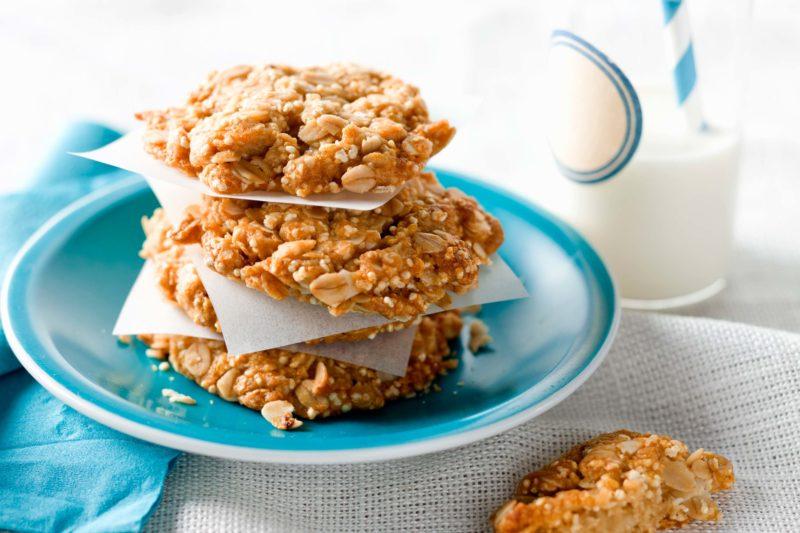 Орехово-злаковое печенье