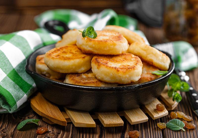 Сырники диетические — без яиц и муки