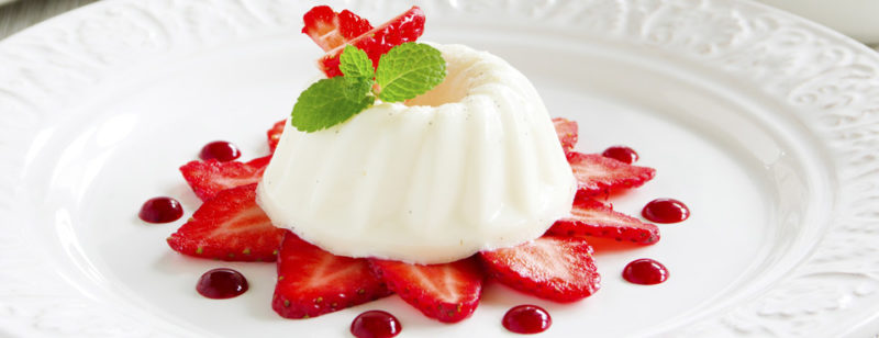 Творожный десерт бланманже