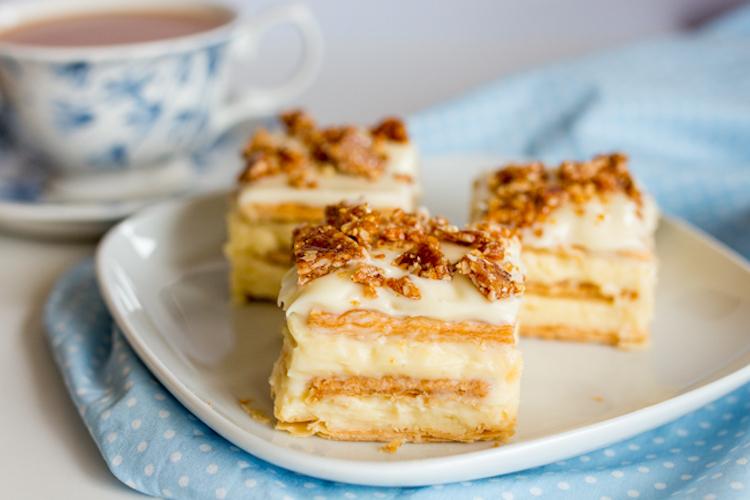 Торт из печенья на заварном креме