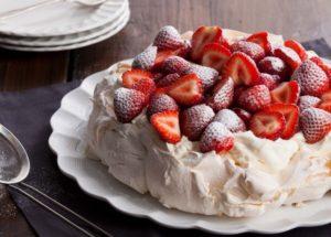 Десерт Павлова – рецепт приготовления