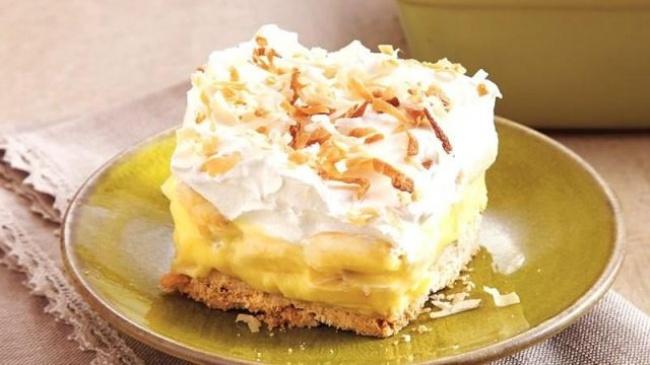 Десерт из бананов - рецепт