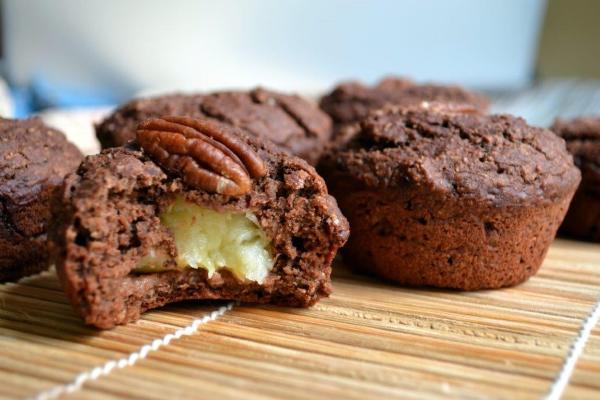 Как приготовить шоколадный кекс с бананом