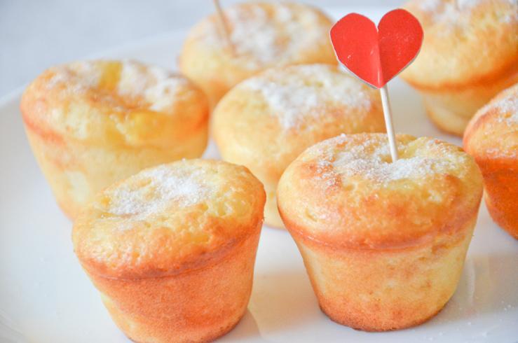 Творожные кексы – рецепт приготовления