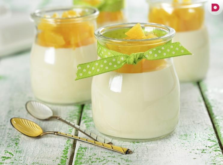 как приготовить молочное желе