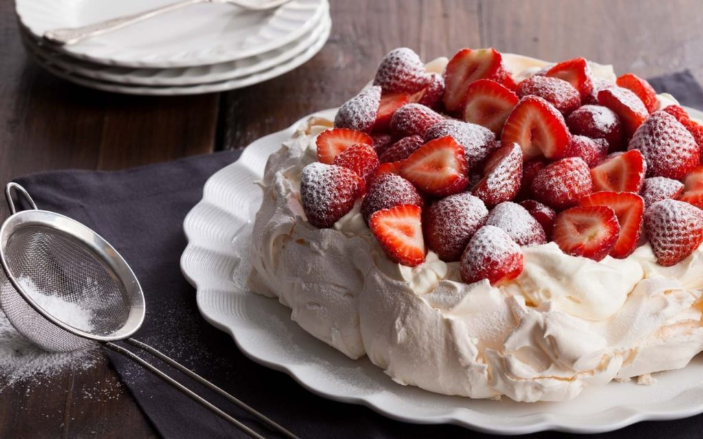 как приготовить безе для торта