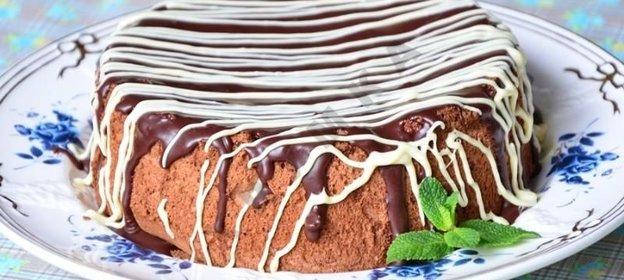как сделать шоколадный бисквит
