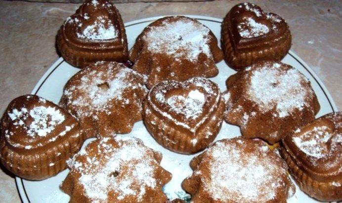 рецепты вкусных кексов