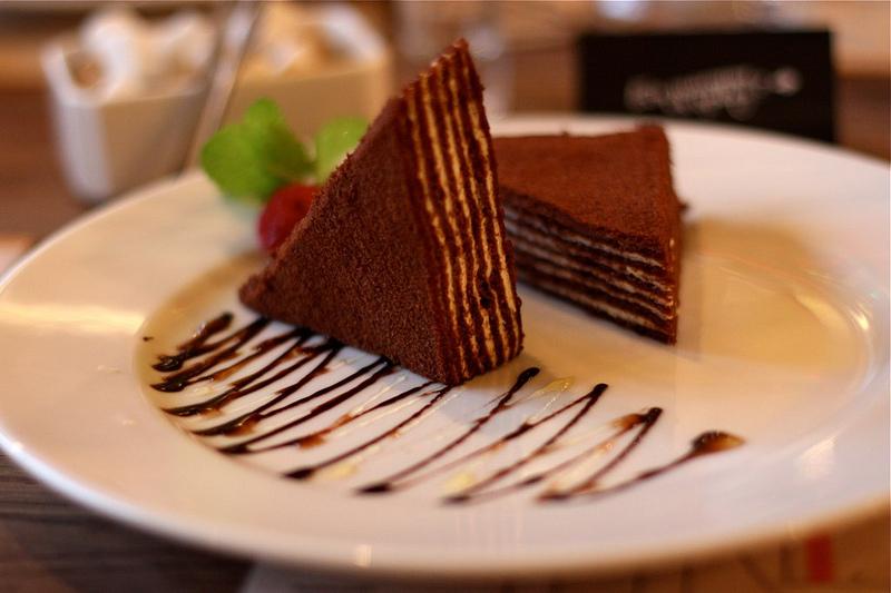 Медовик шоколадный