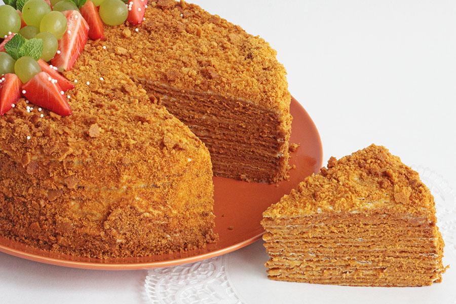 Торт Мeдовик традиционный
