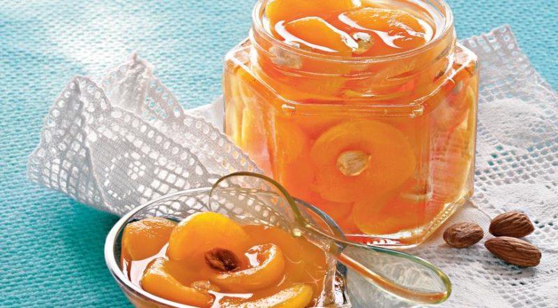 Варенье из абрикосов, крыжовника и бананов