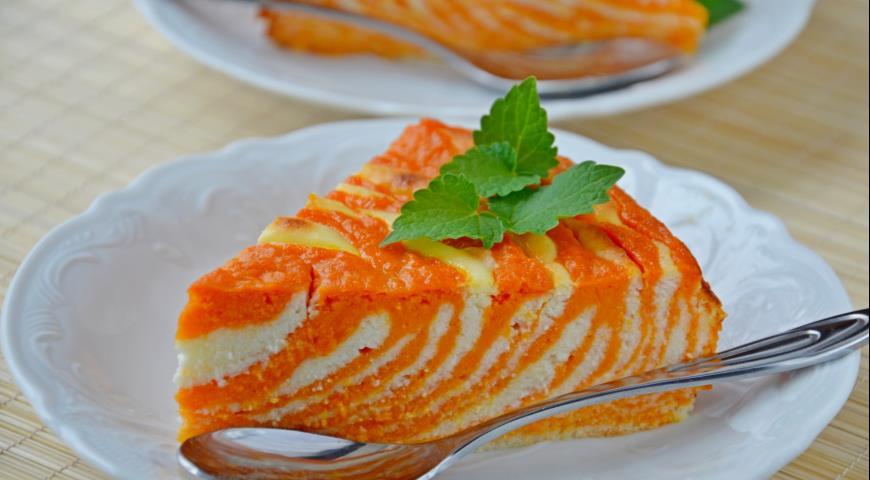 Запеканка Творожная с морковкой