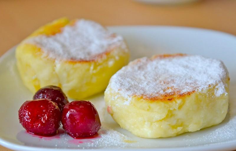 Рецепт с яблоками на сковороде