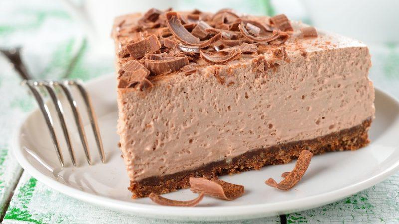 Суфле творожное со вкусом горького шоколада