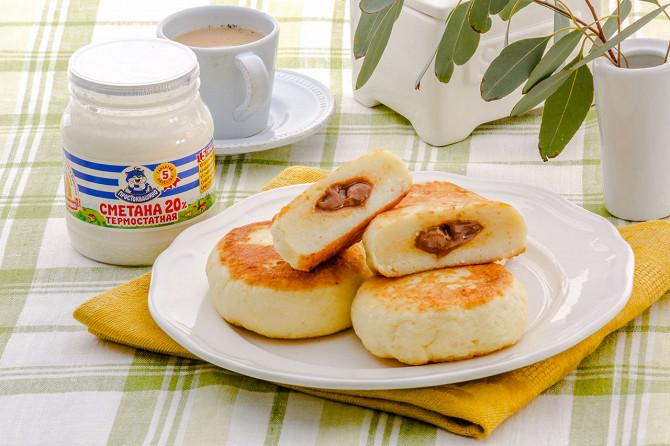 Сырники с вареной сгущенкой рецепт