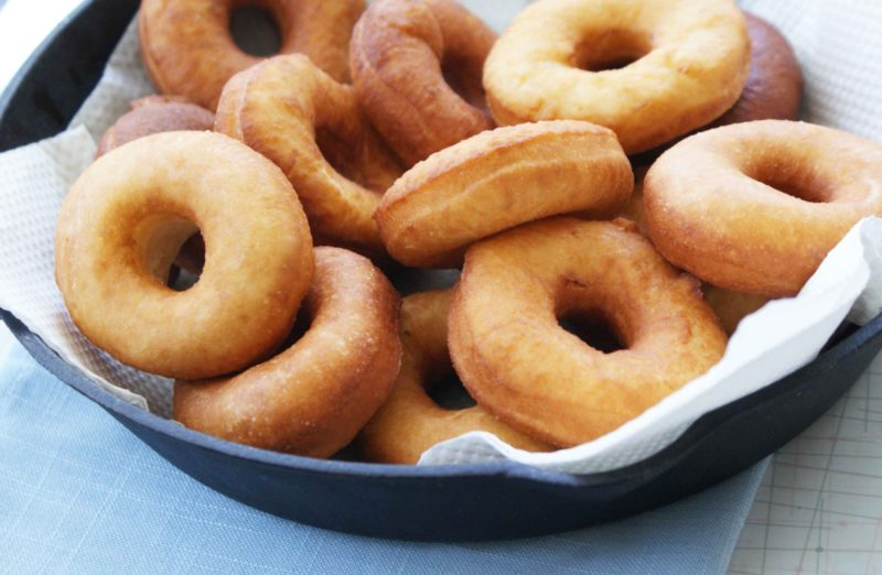 Творожные пончики – рецепт
