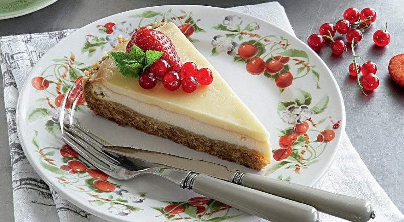 Творожный торт с желе