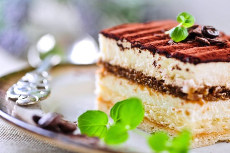 Торт «Кофейный Тирамису»