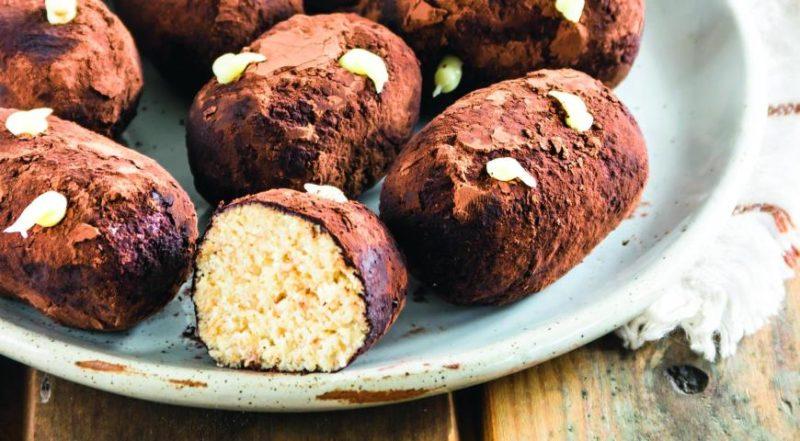Пирожное «Картошка» из печенья с молоком без сгущенки