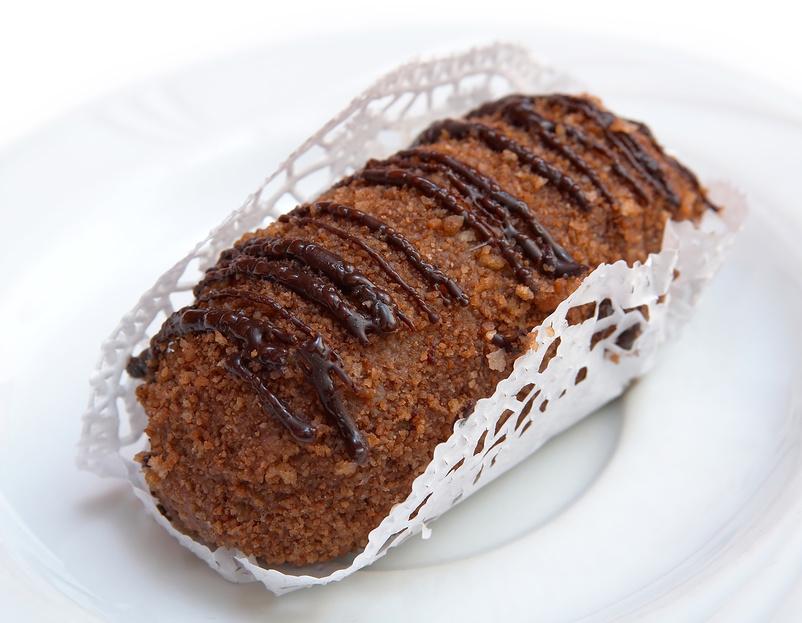Пирожное Картошка из печенья рецепт